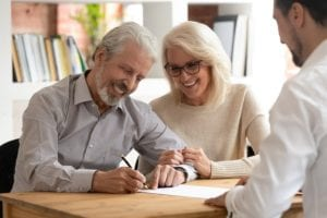 A couple creates an estate plan based on the estate planning checklist their attorney gave them