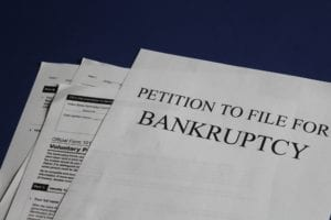 Documents for a petition to file bankruptcy, they explain what is chapter 13 bankruptcy